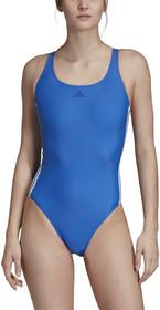 adidas Fit 3 Stripes Maillot de bain 1 pièce Femme, blue